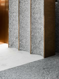 Home Decoration For Anniversary Lobby Interior, Interior Walls, Wall Cladding Interior, Arch Interior, Detail Architecture, Interior Architecture, Design Set, Terrazzo, Joinery Details