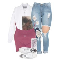 """I'm so waavy "" by xposed-nothings ❤ liked on Polyvore featuring TIBI, Topshop, Michael Kors, Skinnydip and Converse"