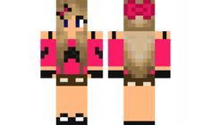 minecraft skin Mustache-Gal-5 Find it with our new Android Minecraft Skins App: https://play.google.com/store/apps/details?id=the.gecko.girlskins
