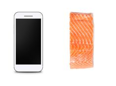 Smart View of Protein : A 4-ounce portion of meat, fish or poultry stacks up to the size of an average smartphone. via Food Network