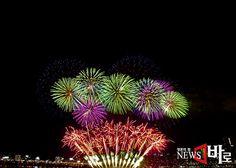 <<2013 서울세계불꽃축제 (Seoul International Fireworks Festival 2013)>> 이촌동 한강고수부지에서 (뉴스바로 2013.10.05.)