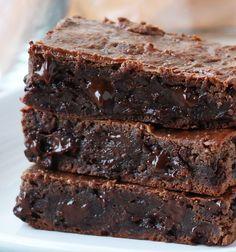 Double Chocolate Grain Free Brownies {100% Flourless}
