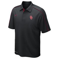 Nike Men's University of Oklahoma Dri-FIT Control Force Polo Shirt.