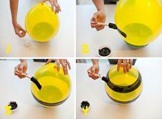 #DIY Bumblebee #Balloons