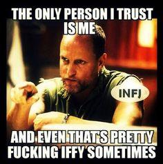 #infj LOL COMPLETELY spot on.