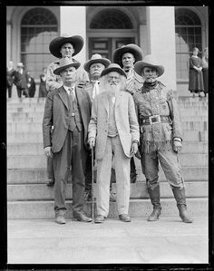 Wild West cowboys in Boston, Millers-Meeker by Boston Public Library, via Flickr