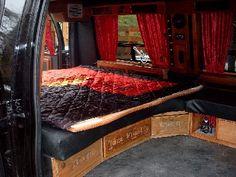 Chevrolet Van, Custom Van Interior, Camper Interior, Car Camper, Camper Van, Campers, Gmc Vans, Astro Van, Dodge Van