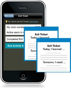 Socrative Exit Ticket - Socrative is a smart student response system that empowers teachers by engaging their classrooms with a series of educational exercises and games. Our apps are super simple and take seconds to login. Socrative runs on tablets, smartphones, and laptops.