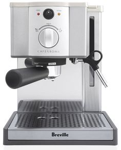 TweetIt is not easy to come across a value priced home espresso machine complete with milk frothing features. It gets better if the espresso machine is easy to operate. That is exactly what Breville ESP8XL Café Roma Stainless Espresso Maker is all about. You will fall in love the moment you see it. It comes …