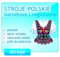 Polskie stroje narodowe i regionalne.