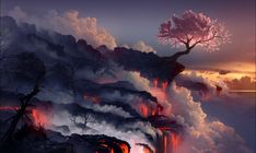 Fantasy Landscape Wallpaper High Quality with ID 16860 on Nature, Photography category in Amazing Wallpaperz. Fantasy Landscape Wallpaper High Quality is one from many Best HD Wallpapers on Nature, Photography category in Amazing Wallpaperz. Cherry Blossom Wallpaper, Cherry Blossom Tree, Blossom Trees, Cherry Tree, Tree Wallpaper, Nature Wallpaper, Wallpaper Backgrounds, Desktop Wallpapers, Desktop Pics