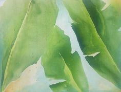banana leaves 2 acrylic
