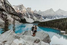 Jessie + Parker  Banff, Canada Destination Engagement Session  Glacier, Mountains, Trees, Future Mr & Mrs, Magical, Romantic, Escape, Adventure,