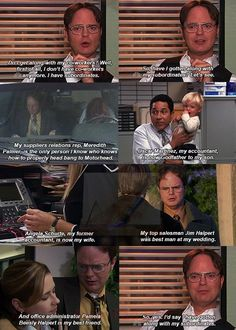 The Office Finale- Dwight :)