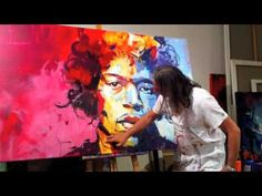 """Another Voka.. im lost for words. Loving the colours   """"VOKA - J. HENDRIX - SPONTANEOUS REALISM 2010"""""""