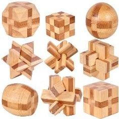 [ 29% OFF ] Mini Ancient Kids Educational Learning Wooden Toys 3D Iq Brainteaser Adult Burr Puzzle Lock And Unlocking Games