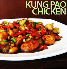 Kung pao chicken - one of the most famous Chinese dish in western countries. China is known for its food diversity and way of cuisine. It's what I miss the most when I live abroad.