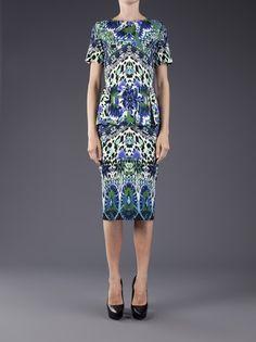 FUZZI - kaleidoscope tulle dress at #Tootsies!