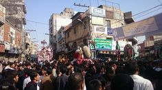 Markazi Ashura Procession 1438 / 2016 - Rawalpindi Pakistan  (10 Muharram 1438 / 2016 - Rawalpindi Pakistan)  Photography: Syed Shahzad  Shia Multimedia Team - SMT http://ift.tt/1L35z55