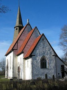 Kräklingbo Kyrka | Kräklingbo church, Sweden. Oldest parts are from 1211.