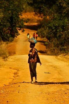 Rural Malawi.
