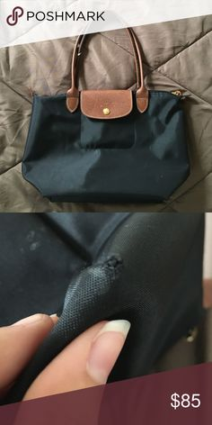 Longchamp Le Pliage Tote. Medium. Black. Gently used Longchamp Le Pliage Bag . 40ebf2225d685