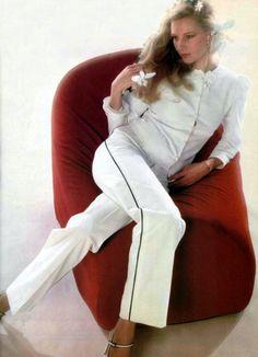 Saint Laurent Rive Gauche. L'Officiel magazine 1979