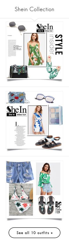 """Shein Collection"" by aida-banjic ❤ liked on Polyvore featuring shein and WithChic"