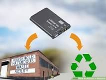 How To Dispose Of Laptop Batteries Recycling Facility Recycling Center Waste Collection