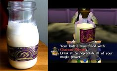 Chateau Romani (Legend of Zelda Majora's Mask-inspired recipe) | The Geeky Chef