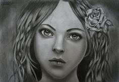 One of my last drawings and one of my best I think.. I was practicing the shadow work.