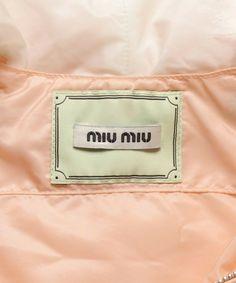 miu miu(ミュウミュウ)の古着「ナイロンブルゾン(ブルゾン)」|詳細画像