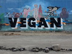 Vegans Vandalize Beloved Huntington Beach Mural with McDonald's Characters On It