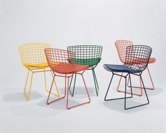 whyr: Side Chair - Designed by Harry Bertoia for Knoll.