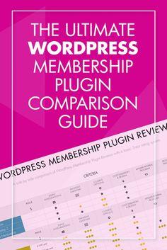 Wordpress Membership Plugin Reviews: The Ultimate Comparison Guide