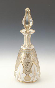 Bohemian Glass | 19th century Perfume Bottle | Western Items | Museum | Takasago International Corporation