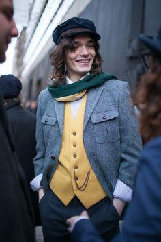 London Men's Fashion Week street style Fall 15