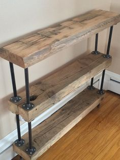 Shipping could be cheaper if you tell me your location and Ill get back to you on the price. This piece is Made from an 1900 century Barn Beam,