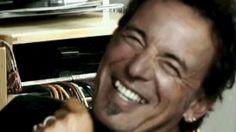 Bruce Springsteen laughter... I love u Bruce.....