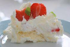Jordgubbs- och marängtårta | Jennys Matblogg