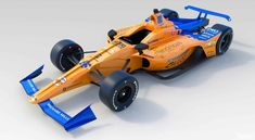 """McLaren unveiled images and video of its new No. 66 IndyCar, driven by Fernando Alonso at the Indianapolis 500 on May """"Introducing the McLaren Cross Country, Bmx, Jiu Jitsu, Motor Chevrolet, Mclaren Formula 1, Toyota, Stock Car, Honda, Bruce Mclaren"""