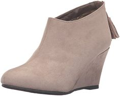 CL by Chinese Laundry Womens via Super Suede Boot, Dark-$59.99