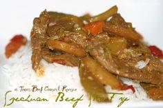 Beef Recipes :Easy Recipes: Szechuan Beef Stir Fry
