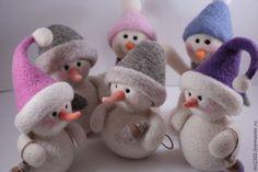 Купить Наш Снеговик - снеговики, Новый Год, Праздник, сувениры и подарки, ручная авторская работа