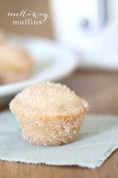 Amazing melt in your mouth muffins - these cinnamon sugar donut holes are a family favorite!