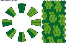 Pattern K2426 - Strings: 16 Colors: 2