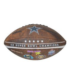 Look what I found on #zulily! Dallas Cowboys Super Bowl Champions Football #zulilyfinds