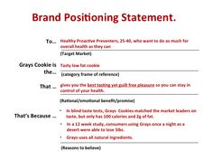 positioning statement coke zero How to write a positioning statement the organization you work for is gearing up to launch a new product or program, or to enter into a new market as a member of the marketing team, it's.