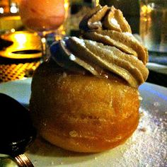 Lemon Donut with Nutella Whip at Will Artley's Pizzeria Orso in Falls Church, VA #DC