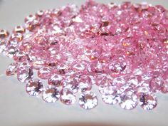 Pink shimmering diamonds